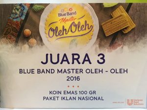 Juara 3 Blue Band